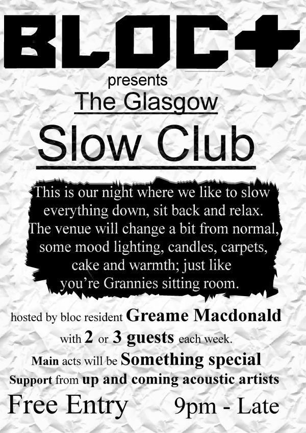 Slow dating glasgow